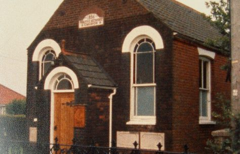 Foxley Primitive Methodist chapel