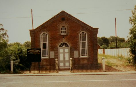 Garvestone Primitive Methodist chapel