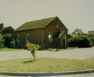 Lyng Primitive Methodist chapel | Keith Guyler 1987