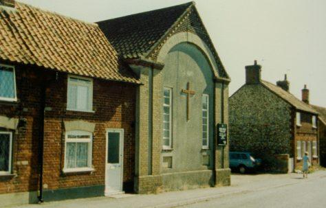 North Elmham Primitive Methodist chapel