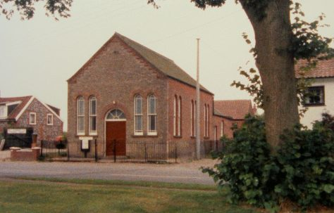 Ashill Primitive Methodist chapel