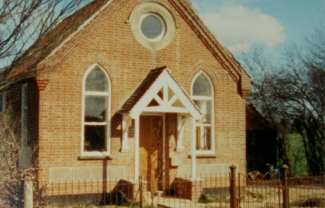 Ashwellthorpe Primitive Methodist chapel