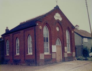 1884 Forncett St Mary Primitive Methodist chapel in 1986 | Keith Guyler 1986