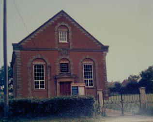 1865 Forncett St Peter Primitive Methodist Church in 1986 | Keith Guyler 1986