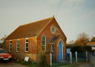 Morley St Botolph Primitive Methodist chapel   Keith Guyler 1992
