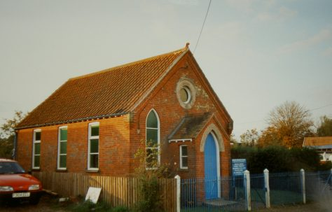 Morley St Botolph Primitive Methodist chapel