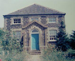 Kenninghall Particular Baptist chapel | Keith Guyler 1986