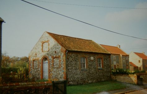 Croxton Primitive Methodist chapel