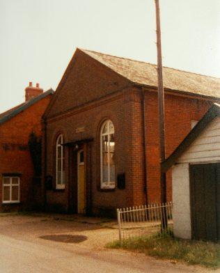 East Harling Primitive Methodist chapel | Keith Guyler 1987