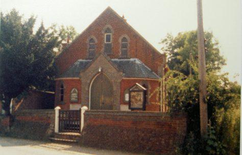 Garboldisham Primitive Methodist chapel