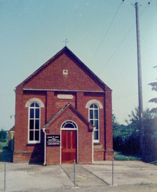 Hopton Primitive Methodist chapel | Keith Guyler 1986