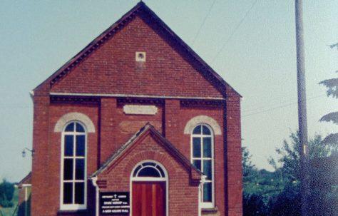 Hopton Primitive Methodist chapel