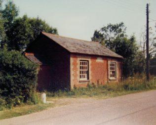 Market Weston Primitive Methodist chapel | Keith Guyler 1986