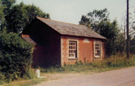 Market Weston Primitive Methodist chapel