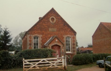 East Walton Primitive Methodist chapel