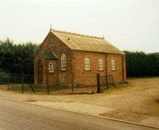 Fair Green Primitive Methodist chapel near Middleton   Keith Guyler 1987