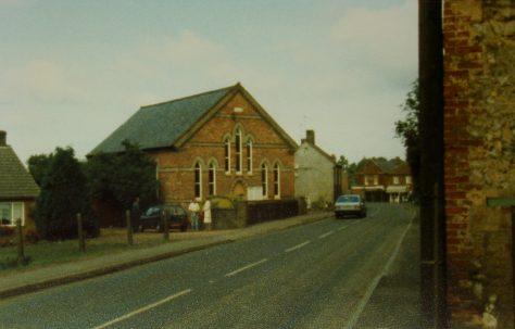 Gayton Primitive Methodist chapel