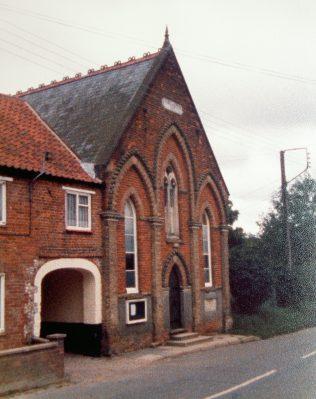 Harpley Primitive Methodist chapel | Keith Guyler 1987