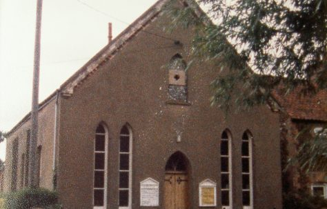 Pottrow Primitive Methodist chapel