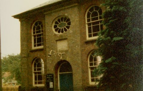 East Rudham Ebenezer Primitive Methodist chapel