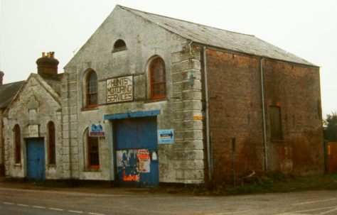 Elm Primitive Methodist chapel