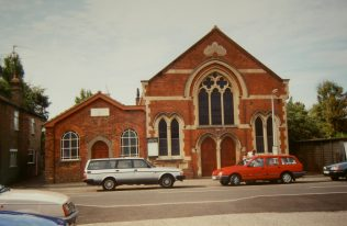 Emneth Primitive Methodist Chapels in 1994: 1854 on the left and 1911 on the right. | Keith Guyler 1994
