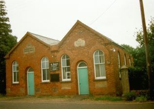 1891 Marshland St James Primitive Methodist Chapel with 1927 Sunday school in 1996 | Keith Guyler 1996