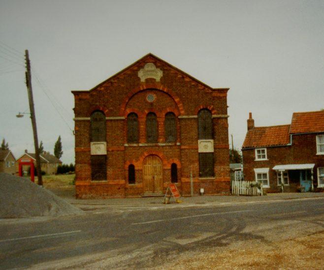 1875 Murrow Primitive Methodist Chapel in 1991 | Keith Guyler 1991