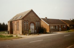 the first Wisbech St Mary Primitive Methodist chapel | Keith Guyler 1999