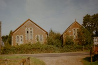 1878 Fincham Primitive Methodist Church with 1904 Sunday school  in 1997, when it was unused and derelict | Keith Guyler 1997