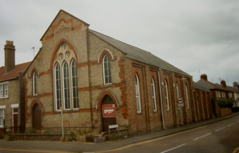 March Station Road Primitive Methodist chapel