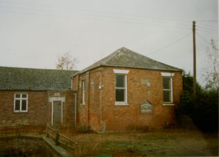 1855 Marshland Fen Primitive Methodist chapel in 1966 | Keith Guyler 1966