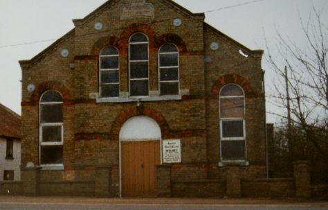 Welney Primitive Methodist Chapel, Norfolk