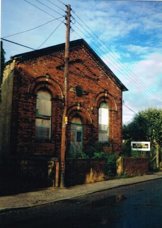 former Bottomboat Primitive Methodist chapel | Keith Guyler 1990