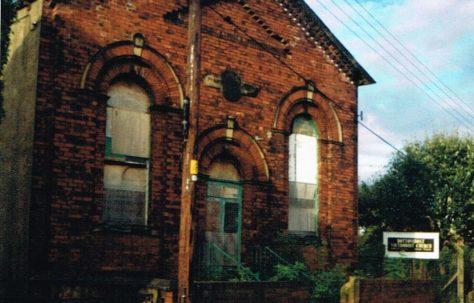 Stanley Bottom Boat Primitive Methodist chapel