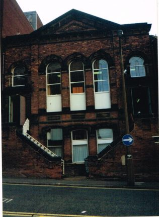 former Ebenezer Primitive Methodist chapel, Wakefield   Keith Guyler 1999