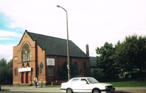 Featherstone Primitive Methodist chapel