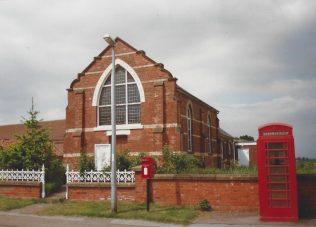 1903 Beltoft Primitive Methodist Chapel as it was in 1997. Sunday school on right. | Keith Guyler 1997