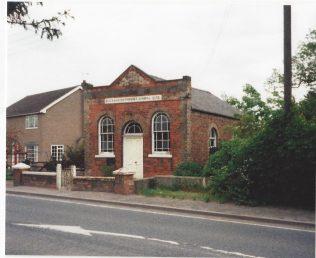 1872 Burnham Primitive Methodist Chapel in Low Burnham, as it was in 1991   Keith Guyler 1991