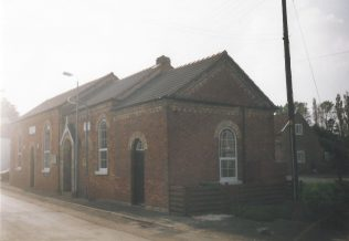 1869 Eastoft Primitive Methodist Chapel as it was in 1998. | Keith Guyler 1998