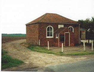 1839 Sandtoft Primitive Methodist Chapel as it was in the 1990s | Keith Guyler 1990s