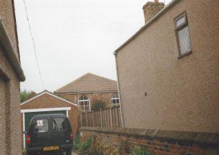 1846 West Butterwick Primitive Methodist Chapel as it was in 1998 when it was a furniture storeroom | Keith Guyler 1998