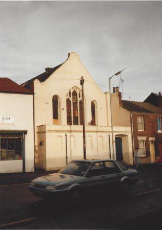 Lincoln Croft Street Primitive Methodist chapel   Keith Guyler 1996