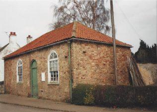 the first Potterhanworth Primitive Methodist chapel | Keith Guyler 1996