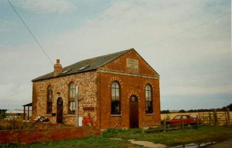 Tetney Lock Primitive Methodist chapel