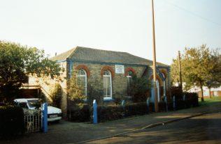 Melton Ross (New Barnetby) Primitive Methodist chapel | Keith Guyler 1995