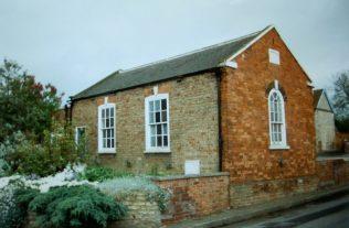 the 1865 Sunday school at Waddingham Primitive Methodist chapel | Keith Guyler 1996