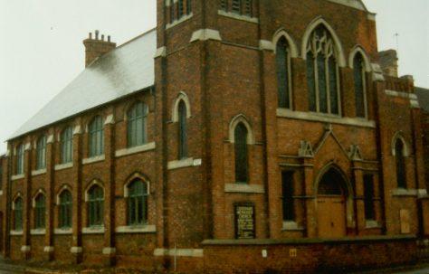 Gainsborough Centenary Primitive Methodist chapel