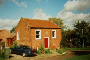 the first Gringley Primitive Methodist chapel | Keith Guyler 1995