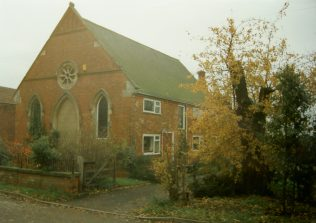 the former Springthorpe Primitive Methodist chapel | Keith Guyler 1995